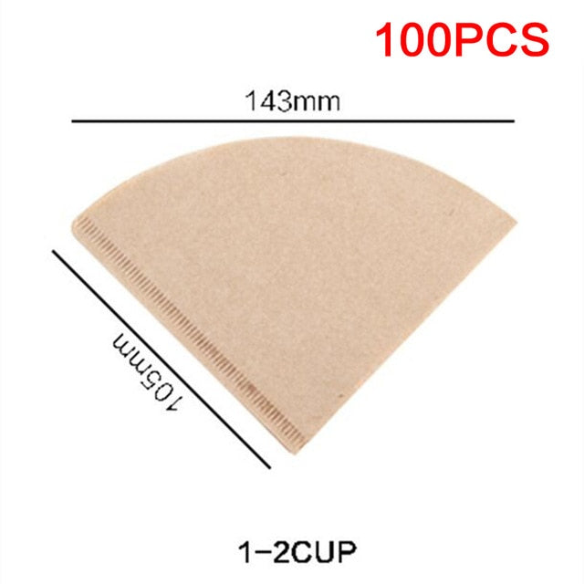 Unbleached 100% Natural Biodegradable Coffee Filters