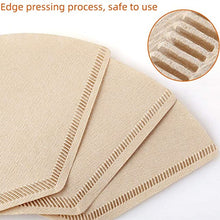Charger l'image dans la galerie, Unbleached 100% Natural Biodegradable Coffee Filters