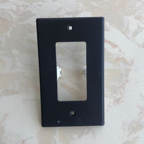 Wall Plate With LED Night Lights - No Batteries or Wires