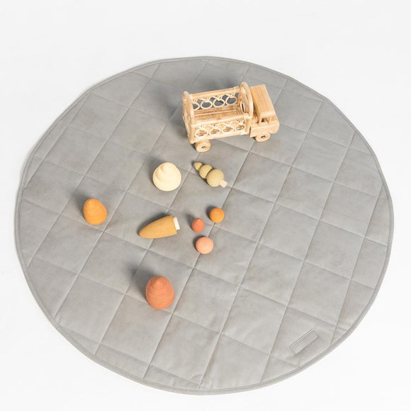 Stone Quilted Play Mat
