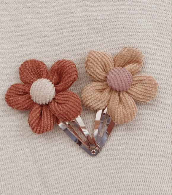 Indie Flower Clip Set
