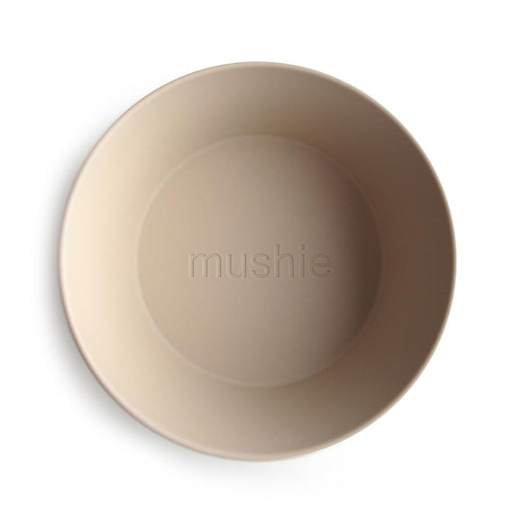 Mushie Round Dinner Bowl - Set of two