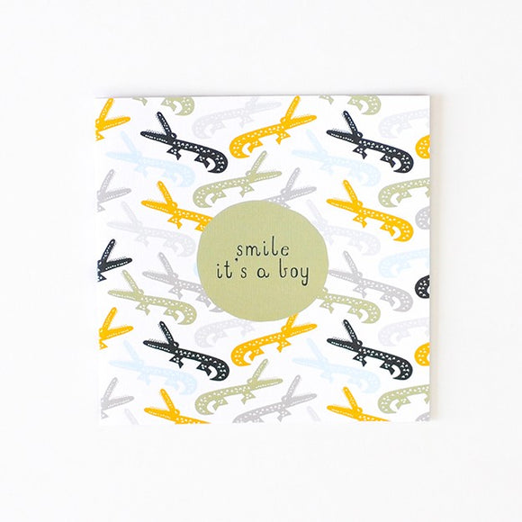 Baby Boy - Greeting Cards