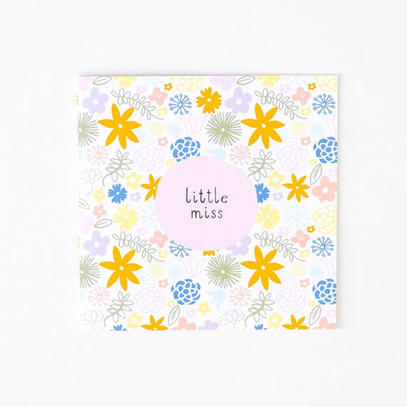 Baby Girl - Greeting Cards