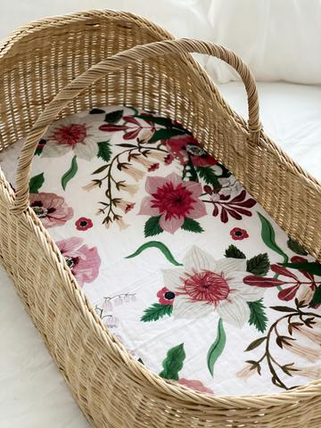 Susie-Bea Muslin Sheets - Bassinet