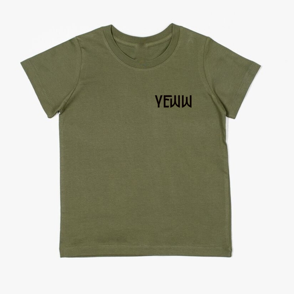 Shred Yeww Tee - Khaki