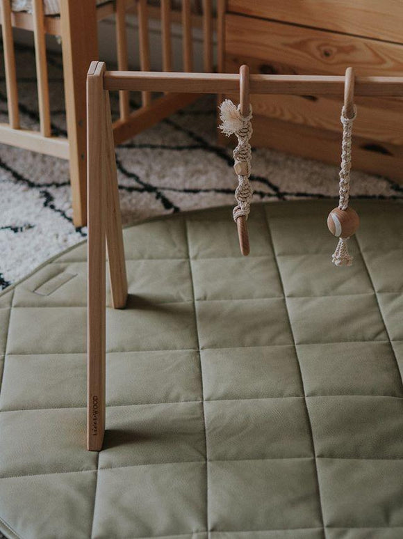 Sage Quilted Play Mat