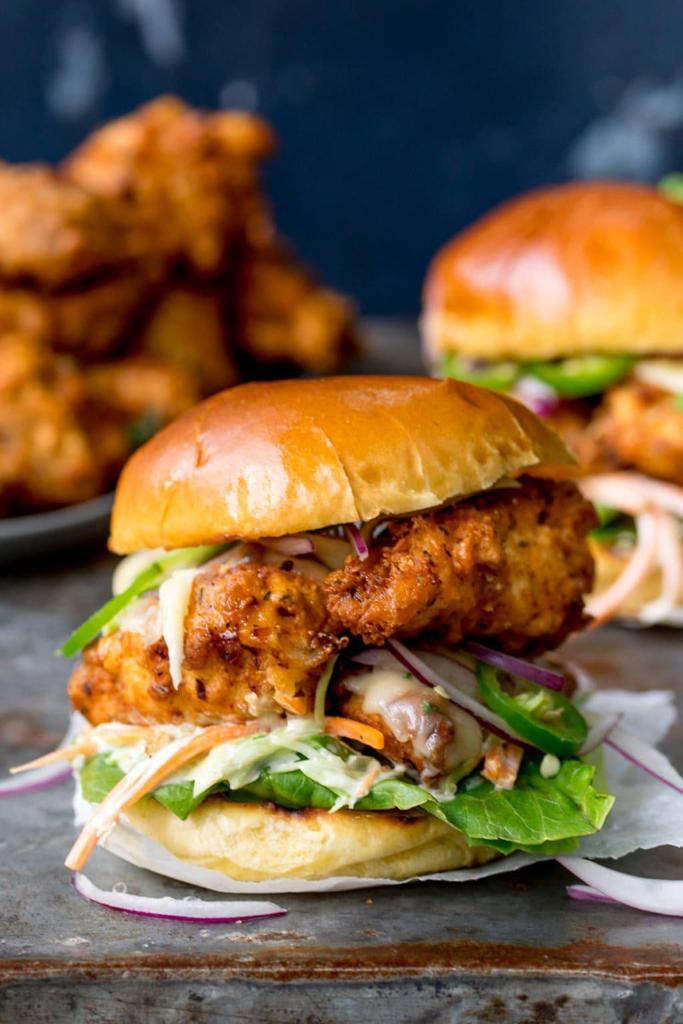 CHICKEN BURGER FRIDAY!