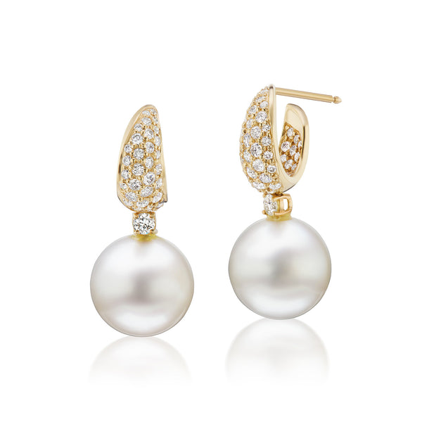 Étoile Pearl & Diamond Earrings