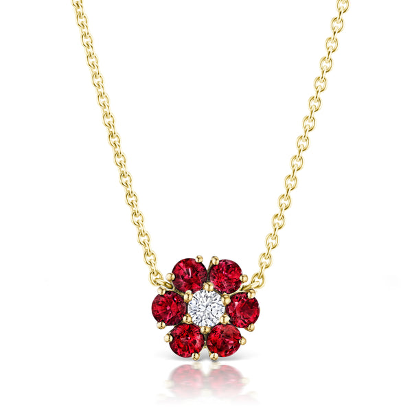 Posey Ruby Necklace