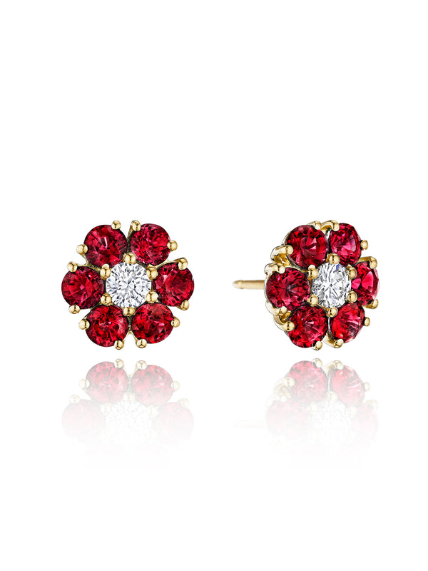 Posey Ruby Earrings