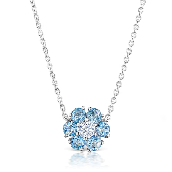 Posey Aquamarine Necklace