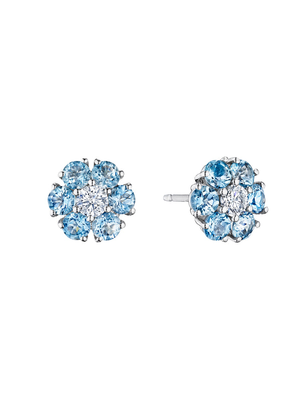 Posey Aquamarine Earrings