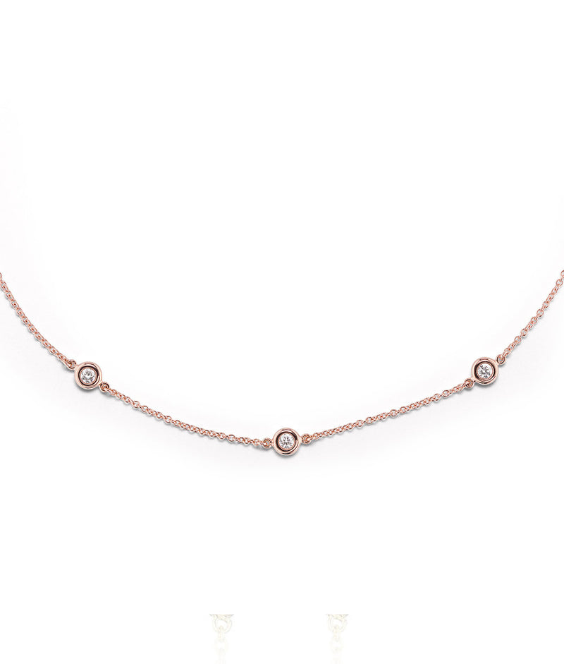 Aura Trio Diamond Necklace