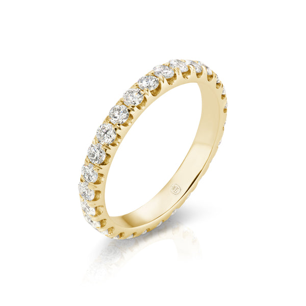Halo Diamond Eternity Band
