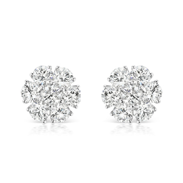 Posey Diamond Earrings, large