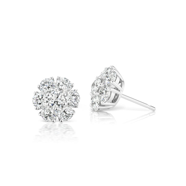 Posey Diamond Earrings, small