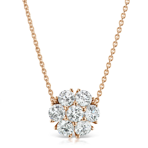 Posey Diamond Necklace, large