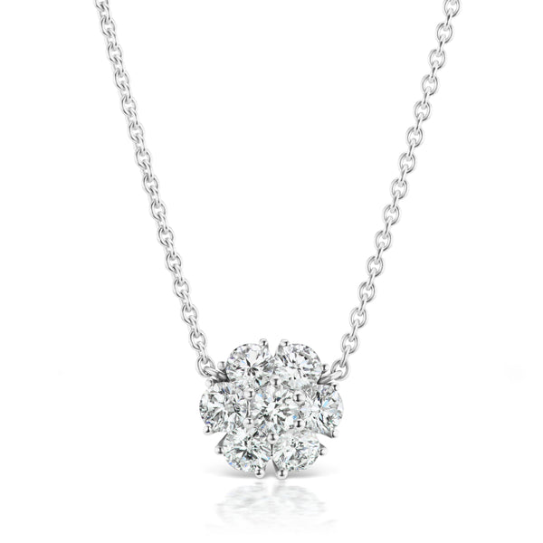 Posey Diamond Necklace, medium