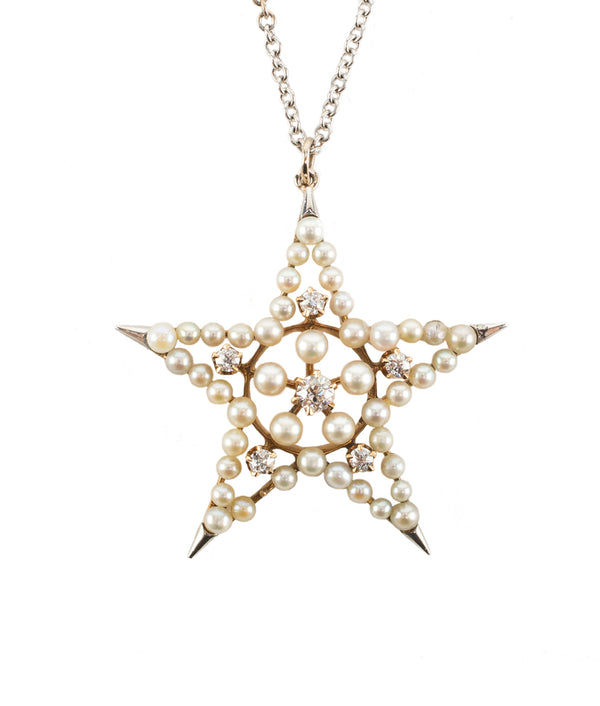 Victorian Star Necklace