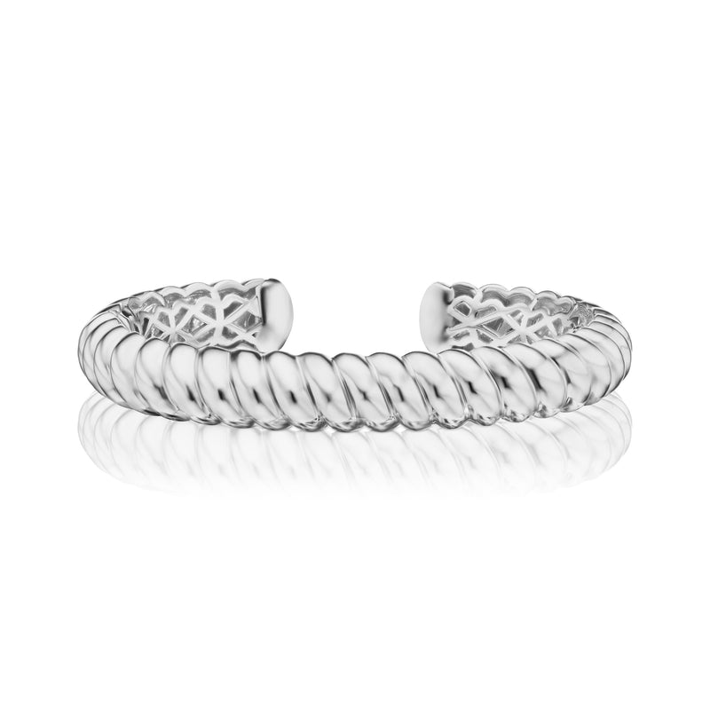Harbor Diamond Bangle, large