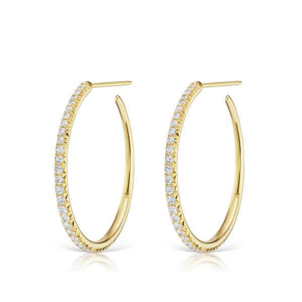 Étoile Hoop Earrings