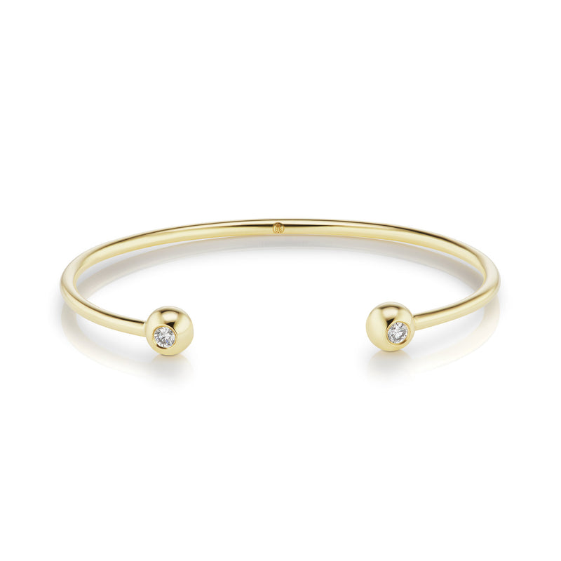 Aura Diamond Bangle, large