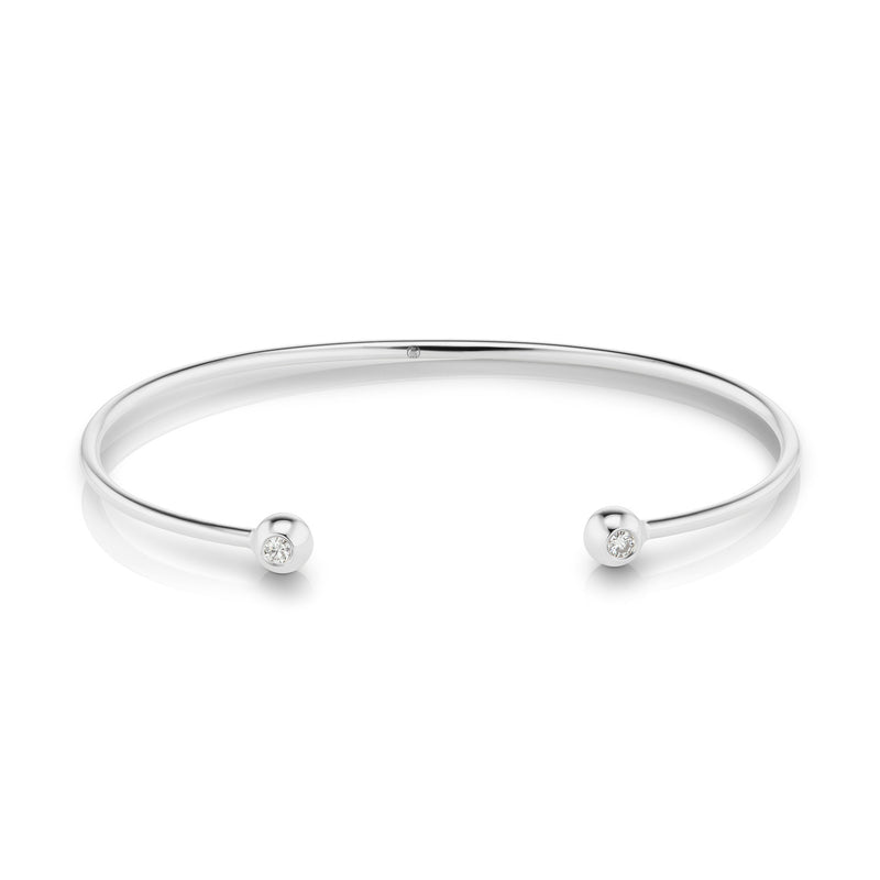 Aura Diamond Bangle, medium