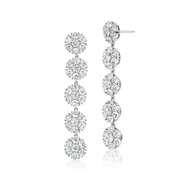 Posey Bouquet Diamond Earrings