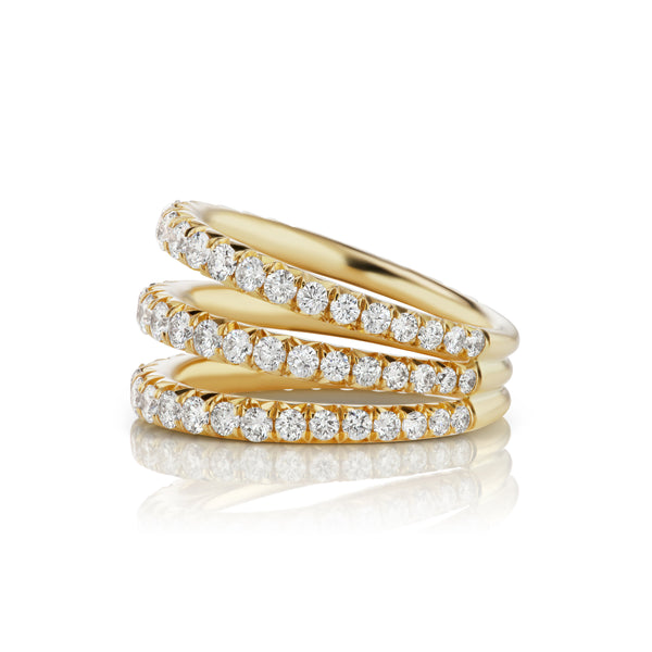 Étoile Triple Stack Ring