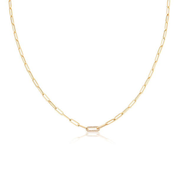 Constellation Gold & Diamond Link Chain