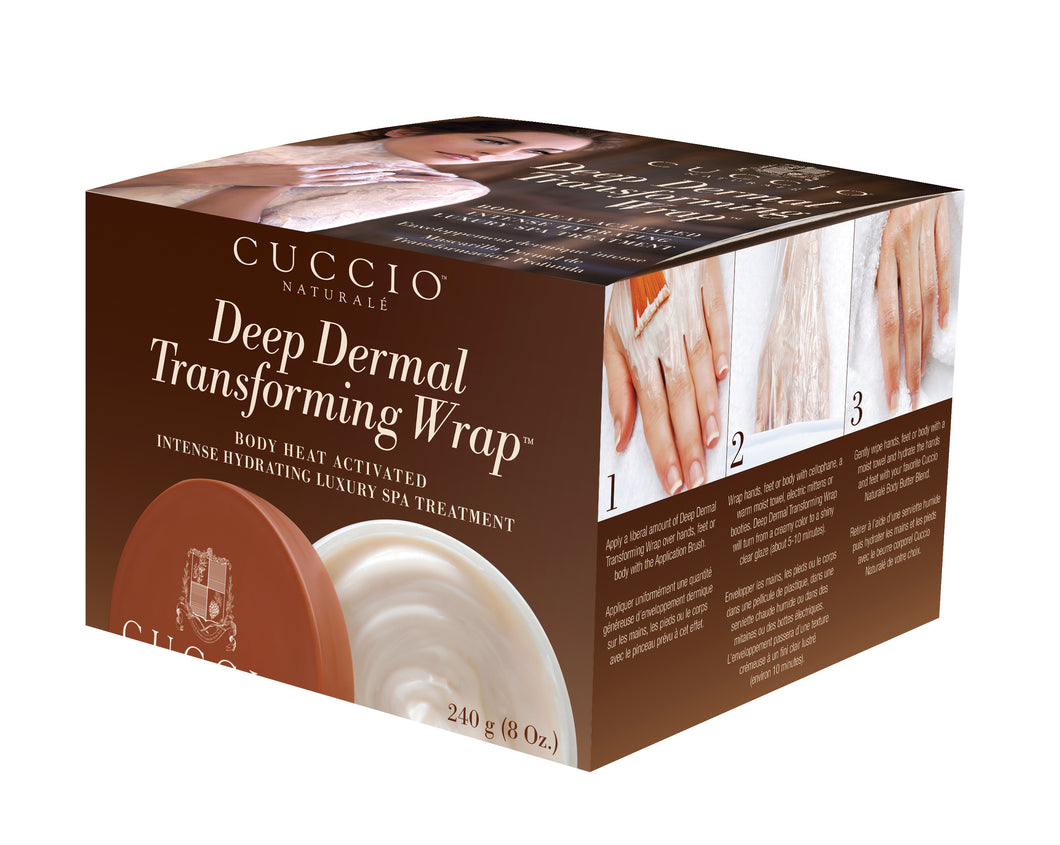 Cuccio Naturale Deep Dermal Transforming Wrap  8 oz