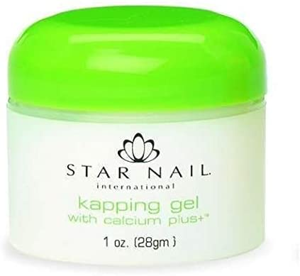 Star Nail Kapping UV Gel Clear with Calcium 1 oz
