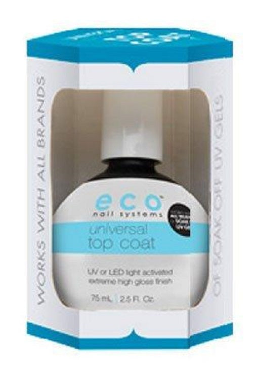 Star Nail ECO Universal Soak Off LED UV  Top Coat 2.5 oz