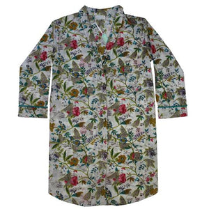 White Leaf Nightshirt