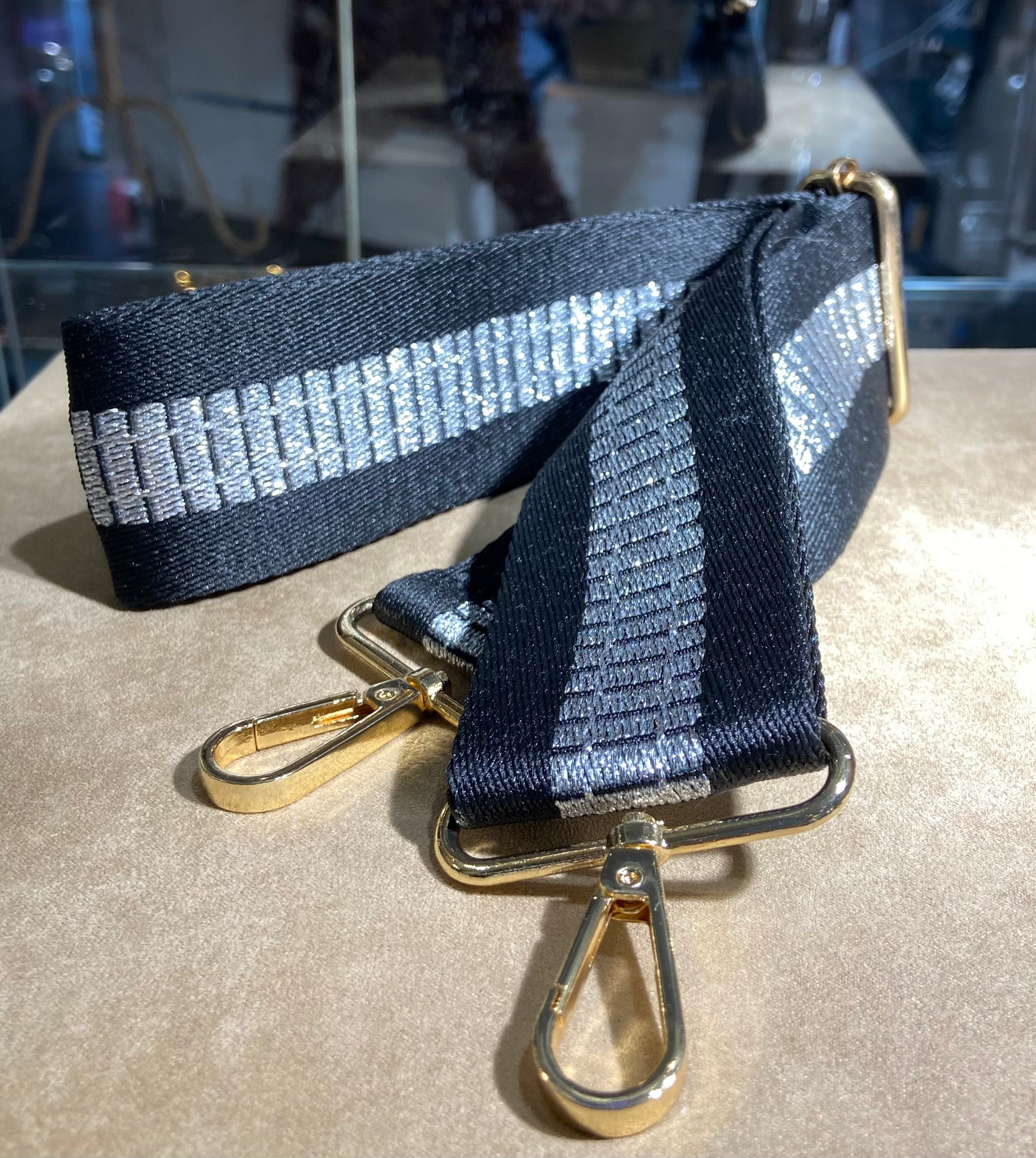 Silver Ladder Bag Strap