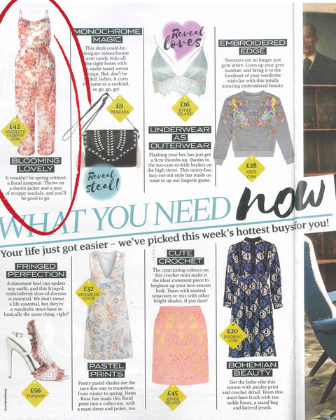 AngelEye Jumpsuit in Reveal Magazine