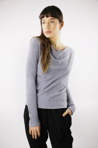 Kelly Classic Jumper in Grey