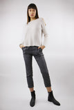 Cold shoulder Jumper in Cream