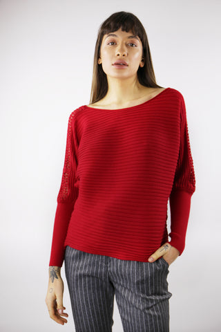 Ruby Jumper in Red