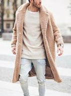 Plush Long Coat