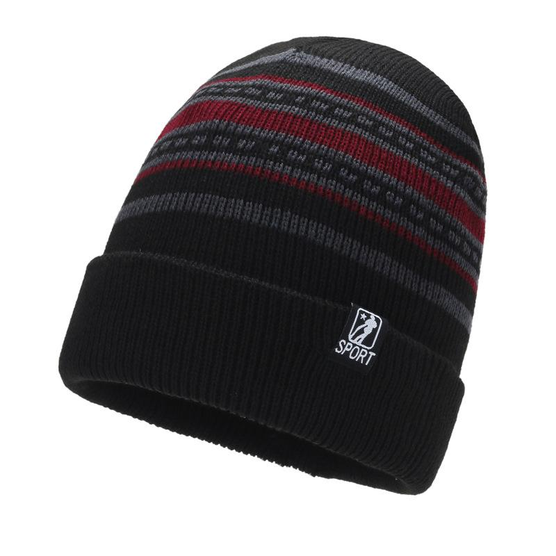 Winter Plush Woolen Cap