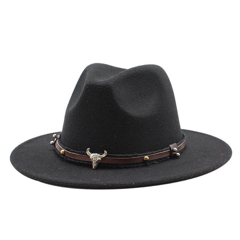 Wool Wide Brim All-match Men and Women Casual Hat