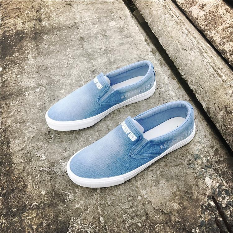 Spring Autumn Denim Men's Canvas Shoes