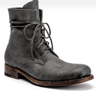 Fashion Solid Color Thick Heeled Casual Men's Short Boots