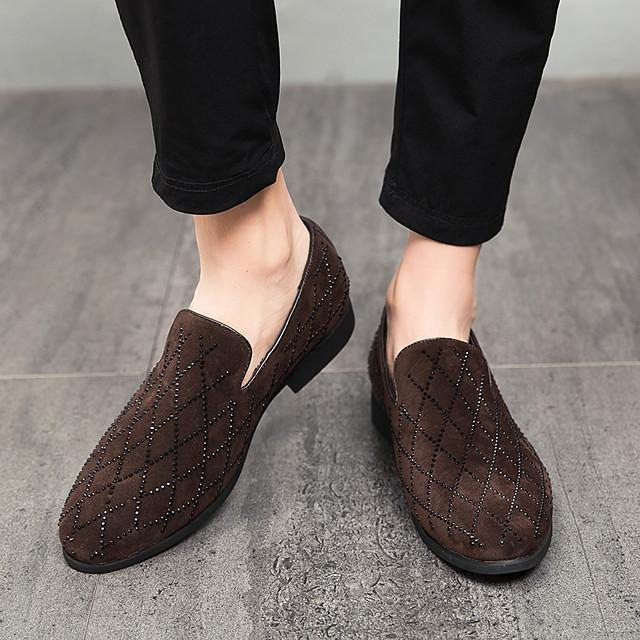 Spring New Fashion Suede Men's Leather Shoes