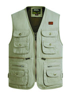 Multi-pocket Casual Outdoor Tooling Vest