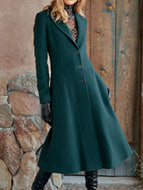 Elegant mid-length coat