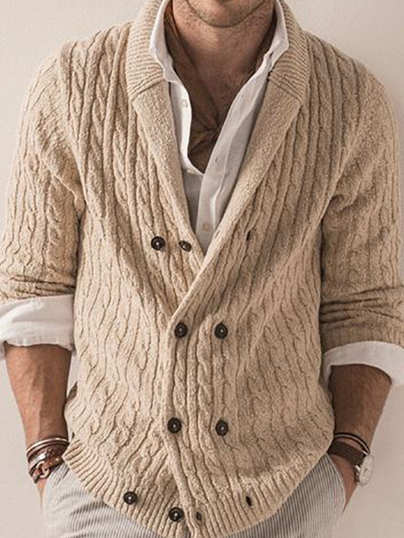 Casual Sweater Slim Sweater Coat