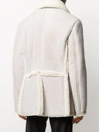 Plush Pocket Deerskin Jacket